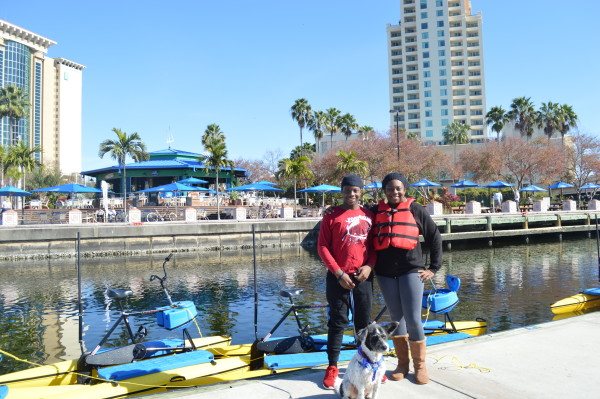 New Downtown Tampa Riverwalk Outdoor Activity